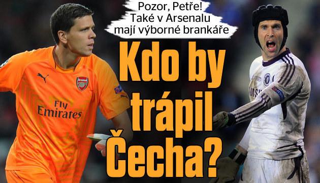 Petr Čech  by to neměl jednoduché ani v Arsenalu