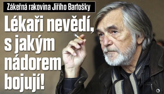 Lékaři u Bartošky nevědí, s jakým nádorem bojují!