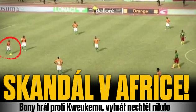 Afrikou otřásá skandál, fotbalisté na hřišti jen chodili
