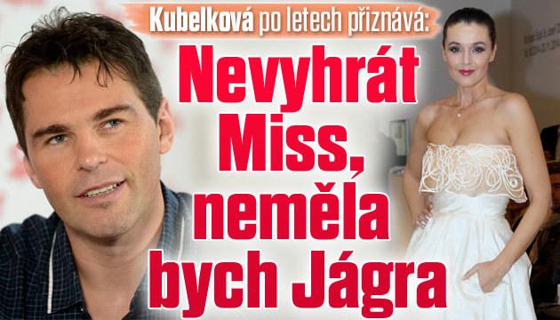 Kubelková přiznává: Nevyhrát Miss, neměla bych Jágra