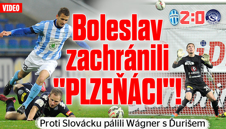 VIDEO: Boleslav doma porazila Slovácko 2:0