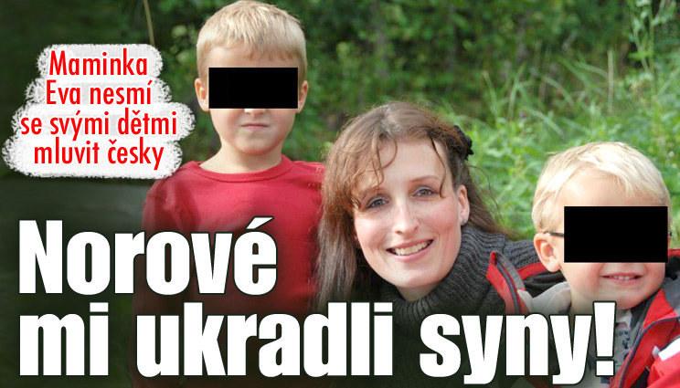 Matka nesmí mluvit s dětmi česky