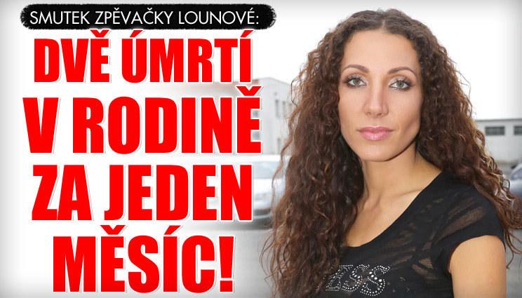 Smutná Olga Lounová: Dvě úmrtí v rodině!