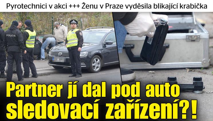 Ženu v Praze vyděsila blikající krabička