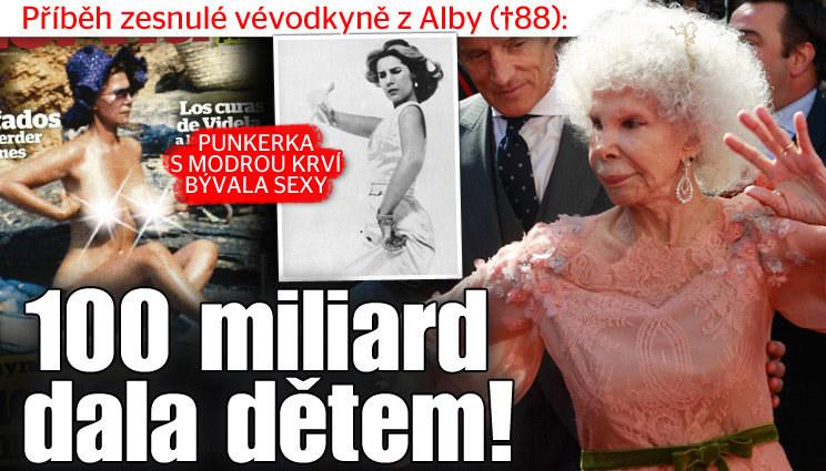 Vévodkyně z Alby dala miliardy dětem