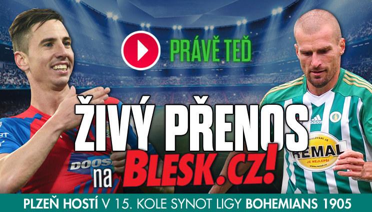 Plzeň hraje s Bohemkou, sledujte přímý přenos