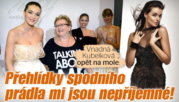 Moderátorka Kubelková: Návrat na molo!