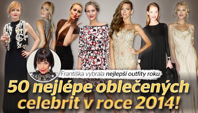 50 nejlépe oblečených celebrit podle Františky