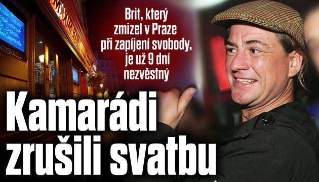 Brit zmizel v Praze při zapíjení svobody