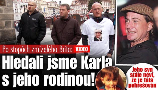 Po stopách Brita ztraceného v Praze