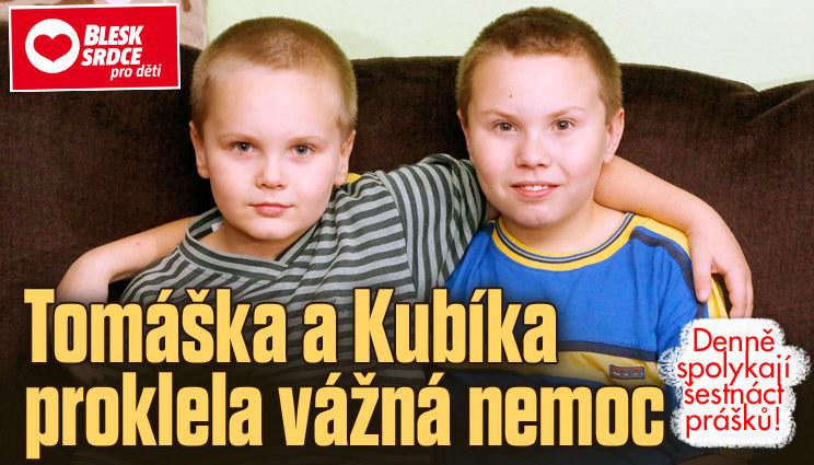 Tomáška a Kubíka proklela vážná nemoc