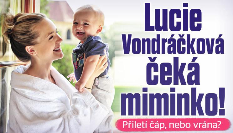 Lucie Vondráčková čeká miminko!
