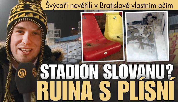 Slovan terčem vtipů kvůli stadionu