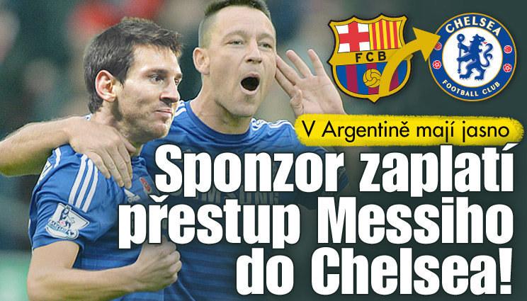 Messiho odchod do Chelsea se zdá být na spadnutí