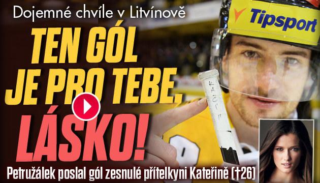 Dojemné chvíle na stadionu Ivana Hlinky v Litvínově