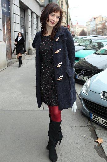 Tereza Kostková: Mimo čistotu stylu i trend s úsměvem