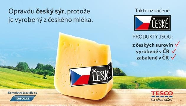 Opravdu český sýr