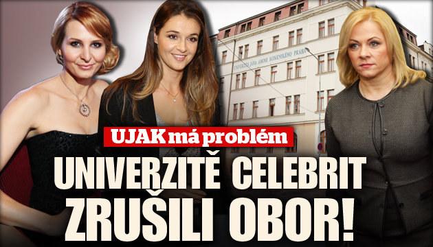 Univerzitě celebrit UJAKu zrušili obor