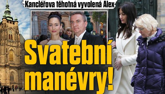 Vyvolená kancléře Mynáře: Svatební manévry!