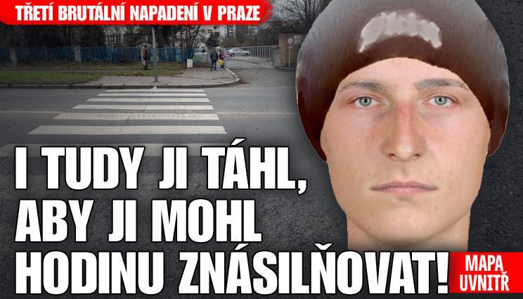 Třetí brutální napadení v Praze