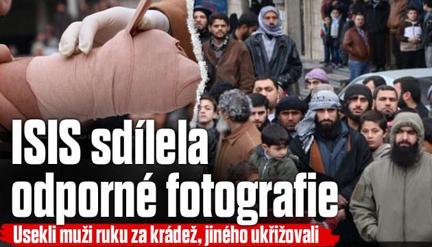 ISIS sdílela odporné fotografie