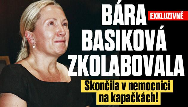 Bára Basiková skončila v nemocnici na kapačkách!