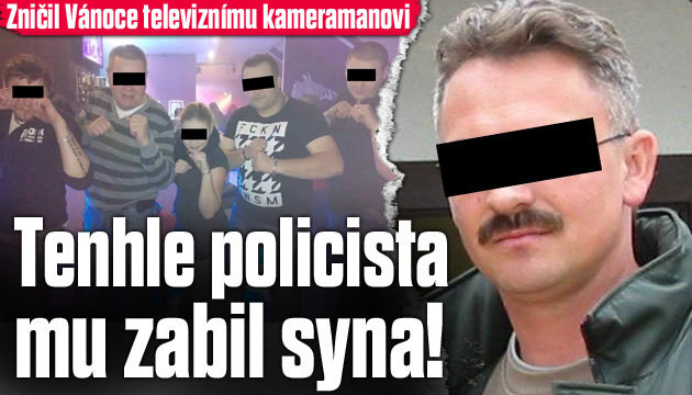 Policista zničil Vánoce televiznímu kameramanovi!