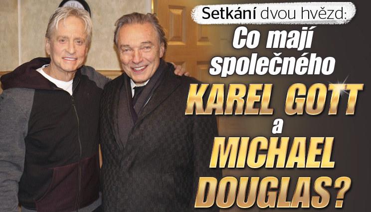 Karel Gott se setkal s Douglasem