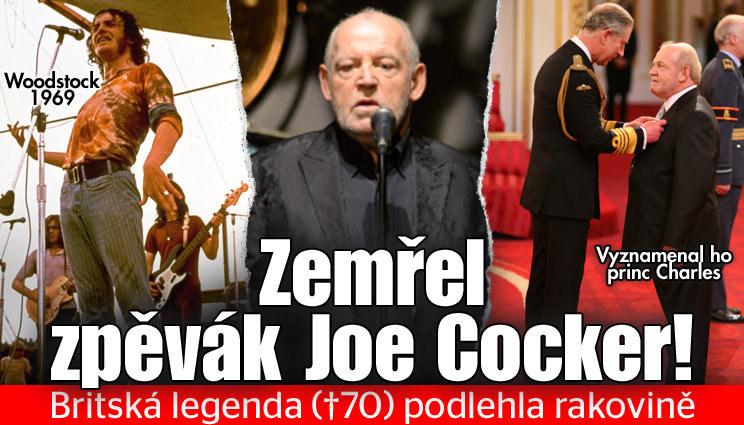 Zemřel legendární zpěvák Joe Cocker