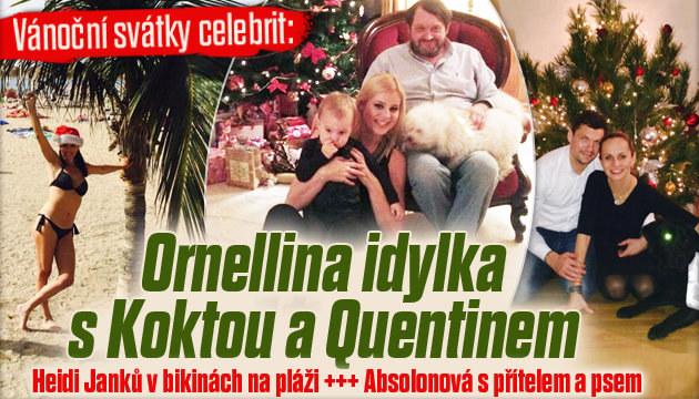 Vánoce u Ornelly: Idylka s Koktou a Quentinem