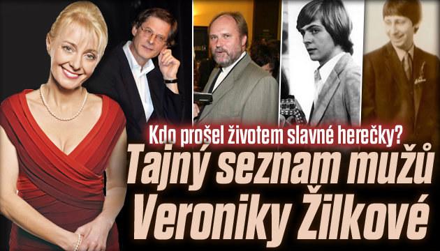 Tajný seznam mužů herečky Žilkové