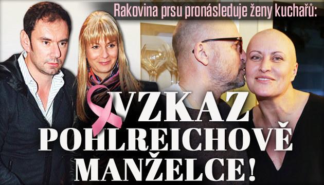 Rakovina prsu pronásleduje manželky kuchařů