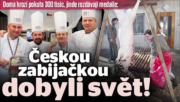 Češi dobyli se zabijačkou svět!