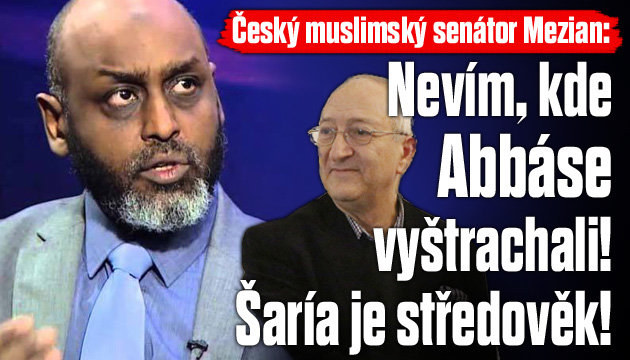 Muslimský senátor: Nevím, kde Abbáse vyštrachali