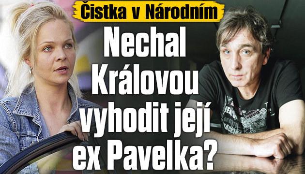 Čistka v Národním: Králová končí kvůli Pavelkovi?