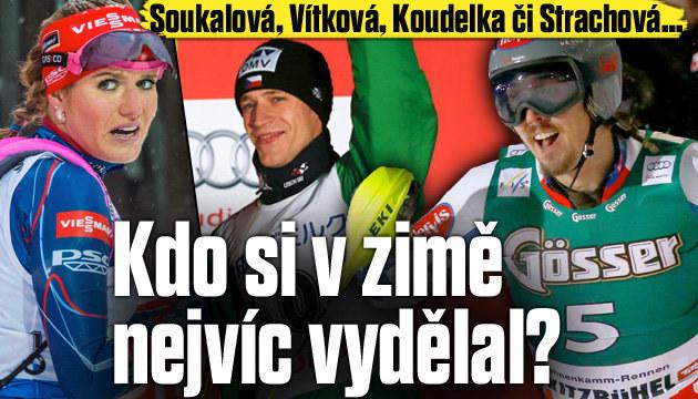 Kdo z Čechů si vydělal už přes DVA miliony?