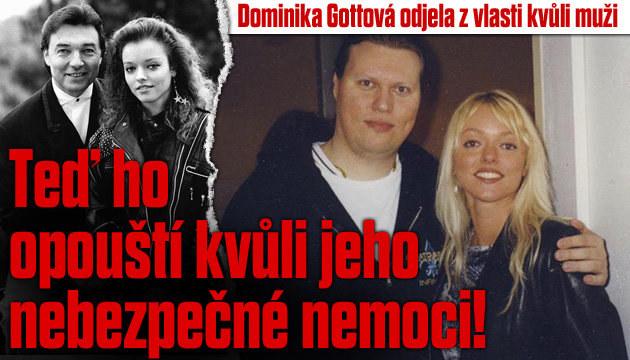 Dominika Gottová se vrací do vlasti kvůli nemoci