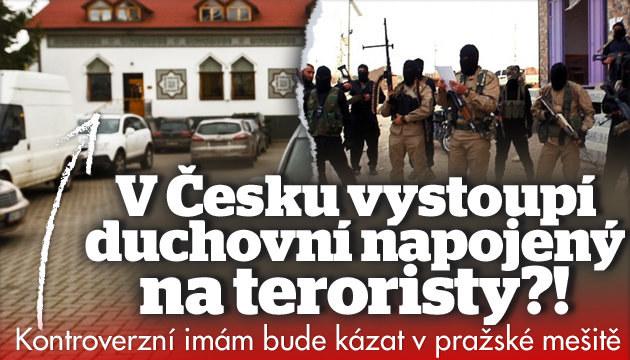 V Česku vystoupí imám napojený na teroristy?!