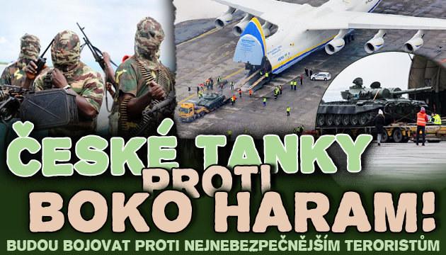 České tanky budou bojovat proti Boko Haram!