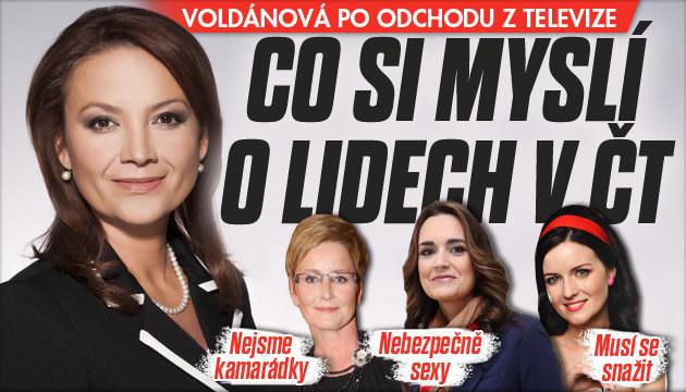 Voldánová: Co si myslí o kolezích z ČT?