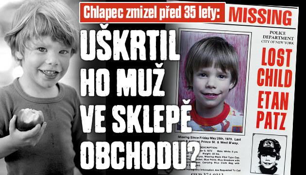 Chlapec zmizel beze stopy před 35 lety