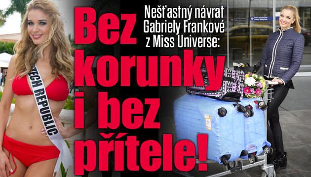 Češka Franková a pohled na Miss Universe