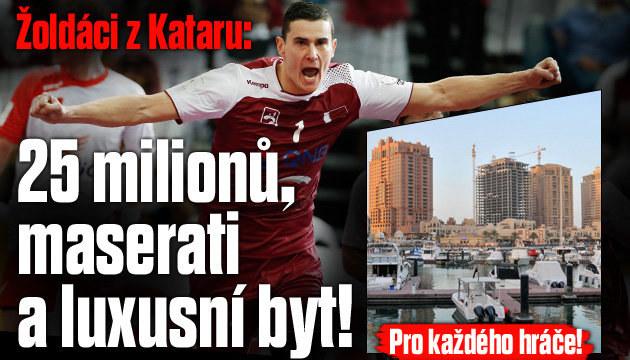 Katar si koupil všechno, zuří Poláci na MS v házené
