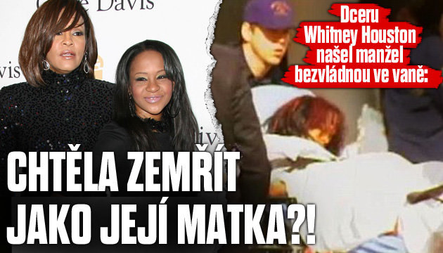 Dceru Whitney Houston museli křísit!