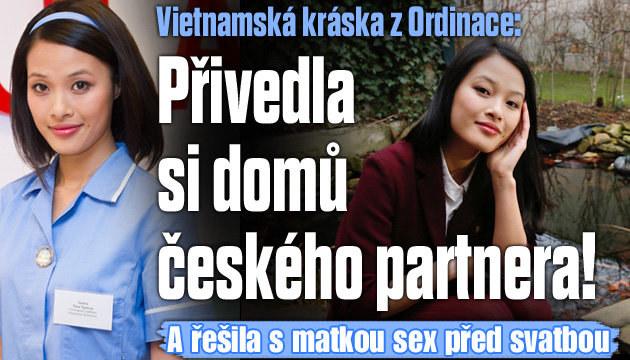Vietnamská sestřička randí s Čechem