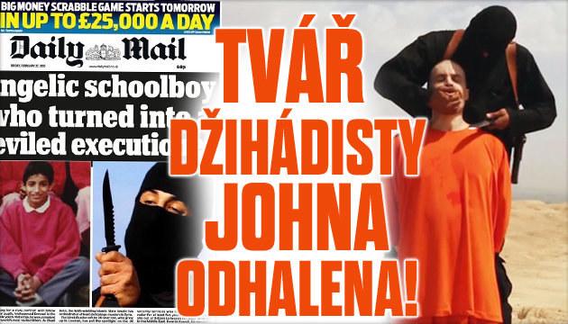 Tvář džihádisty Johna konečně odhalena!