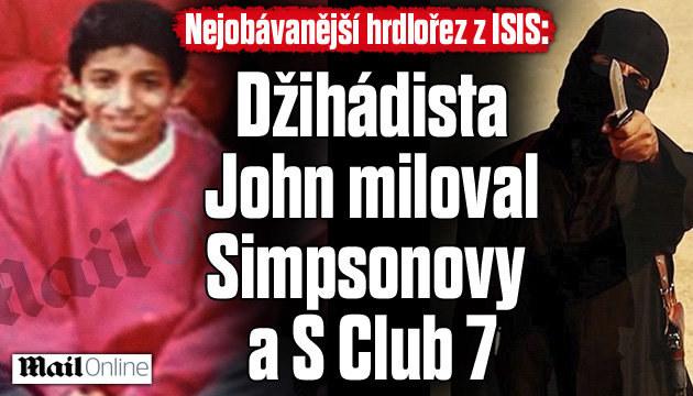 Džihádista John miloval Simpsonovy
