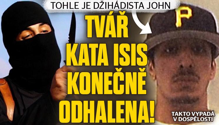 Tvář kata ISIS konečně odhalena!