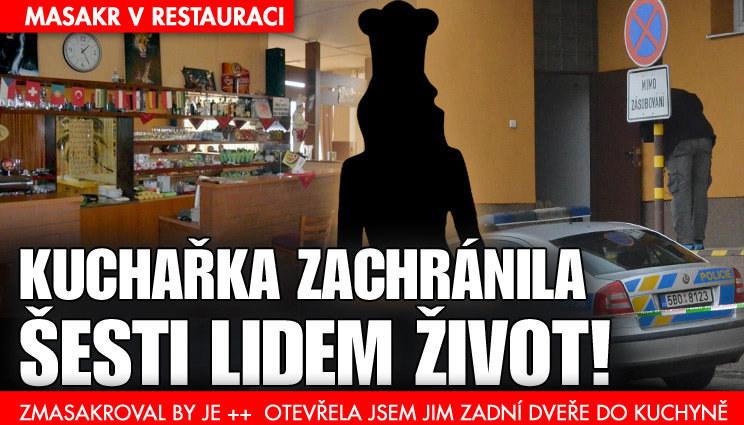 Svědectví kuchařky z masakru v restauraci
