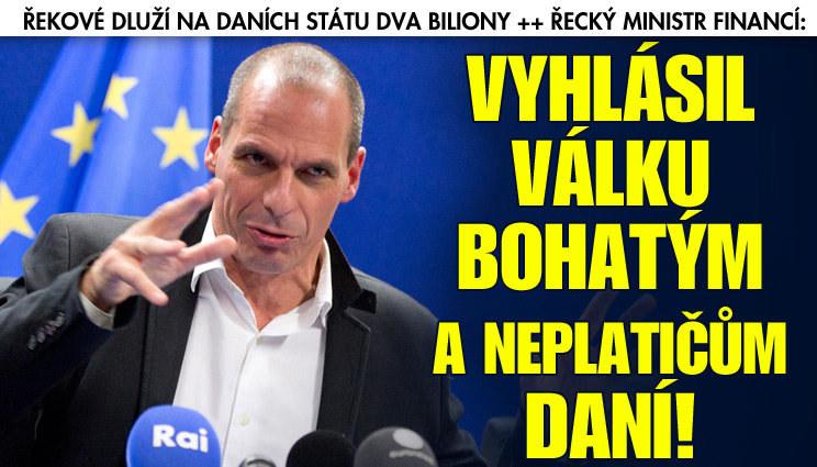 Řecko vyhlásilo válku boháčům a neplatičům